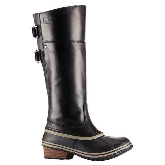 Sorel Slimpack lll tall leather riding boots